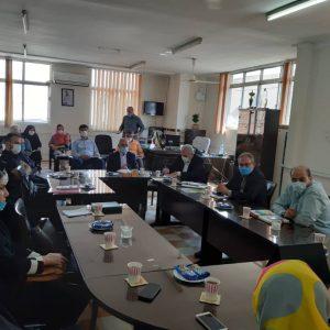 جلسه در اداره کمیته امداد گرگان1